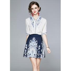 JNS8191X Top+Skirt***