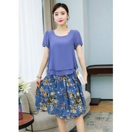 JNS0916X Top+Skirt
