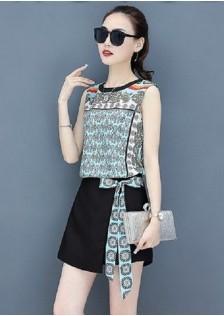 JNS232X Top+Skirt