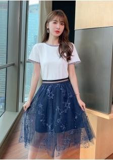 JNS5956X Top+Skirt