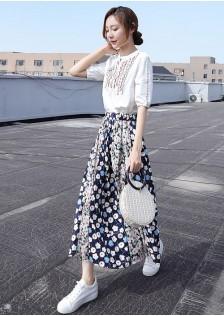 JNS1993X Top+Skirt