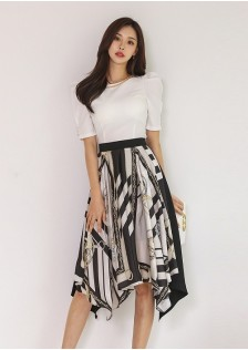 JNS5872X Top+Skirt