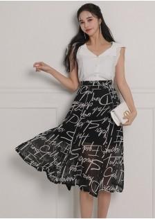 JNS5893X Top+Skirt