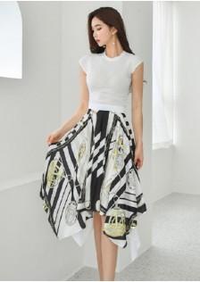 JNS5890X Top+Skirt