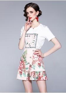 JNS1378X Top+Skirt