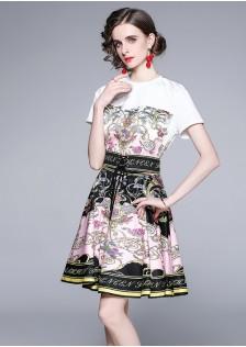 JNS1551X Top+Skirt